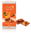 Lindt Recipe, milk chocolate with orange bar
