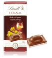 Lindt milk chocolate with Cognac bar