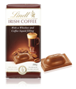 Lindt milk chocolate with Irish coffee bar