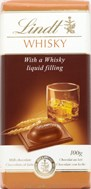 Lindt Milk chocolate with whisky filling