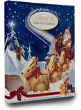 Lindt Christmas chocolate advent calendar