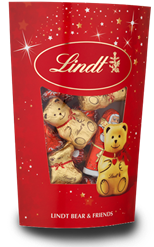 Lindt Christmas chocolate Bears & Friends giftbox