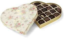Vintage chocolate gift box