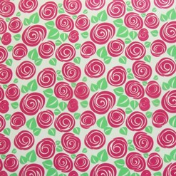 Roses chocolate transfer sheets