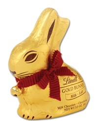 Lindt gold bunny in milk chocolate 100g