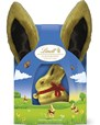 Lindt gold bunny with fluffy bunny ears