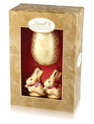 Lindt gold bunny luxury Easter egg