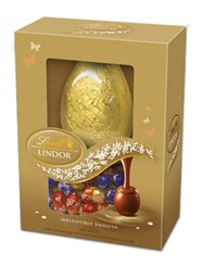 Lindt, Lindor Egg filled with assorted mini Easter eggs 215g