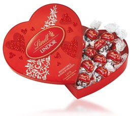 Lindt, Lindor Amour heart box of truffles