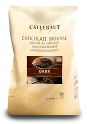 Callebaut dark chocolate mousse