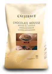 Callebaut milk chocolate mousse