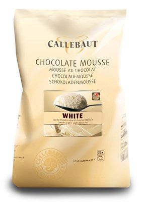 Callebaut white chocolate mousse powder