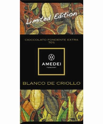 Amedei, Blanco de Criollo, dark chocolate bar
