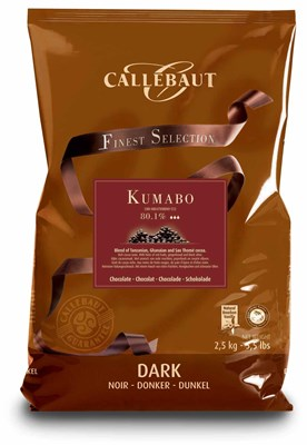 Callebaut, Kumabo, dark chocolate couverture chips