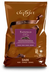 Callebaut Satongo dark chocolate couverture chips