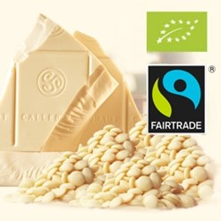 Callebaut, Organic, Fairtrade white chocolate