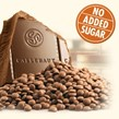 Callebaut No Added Sugar milk chocolate block