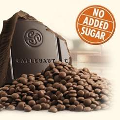 Callebaut No Added Sugar dark chocolate block