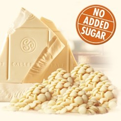 Callebaut No Added Sugar white chocolate block