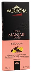 Valrhona, Noir Manjari orange dark chocolate bar