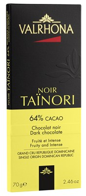 Valrhona Tainori 64% dark chocolate bar
