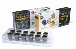 Chocolate shot cups