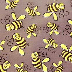 Bees chocolate transfer sheets