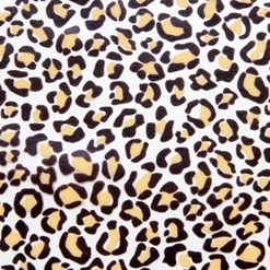 Leopard skin chocolate transfer sheets
