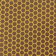 Honeycomb chocolate transfer sheets on dark