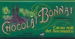 Bonnat, Real del Xoconuzco, 75% dark chocolate bar