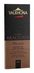 Valrhona Araguani dark chocolate bar