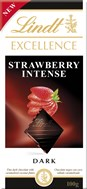 Lindt, Strawberry Intense dark chocolate bar