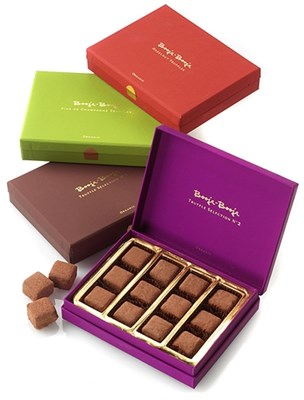 Booja Booja chocolate gift boxes