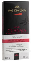 Valrhona, Guanaja 70% dark chocolate couverture bar