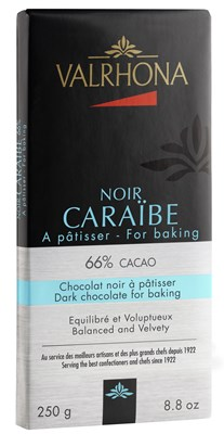 Valrhona, Caraibe 66% dark chocolate couverture bar
