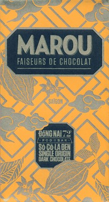 Marou, Dong Nai 72% dark chocolate bar