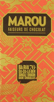 Marou, Baria 76% dark chocolate bar