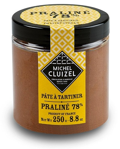 Michel Cluizel Pâte à Tartiner Praliné 78% Chocolate Spread
