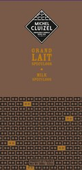Michel Cluizel, Grand Lait Speculous, milk chocolate bar