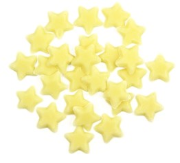 Chocolate sprinkles stars decorations