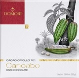 Domori Canoabo 70% dark chocolate bar