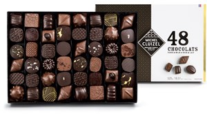 Click to view product details and reviews for Milk Dark Luxury Chocolate Gift Box Small 165g.
