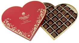 Valentines Milk chocolate selection box 400g