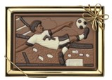 Chocolate footballer