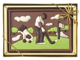 CHocolate golfer gift