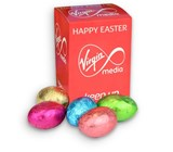 Personalised mini Easter eggs box