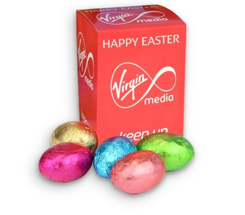 Personalised mini easter egg box chocolate trading co personalised mini easter eggs box negle Image collections