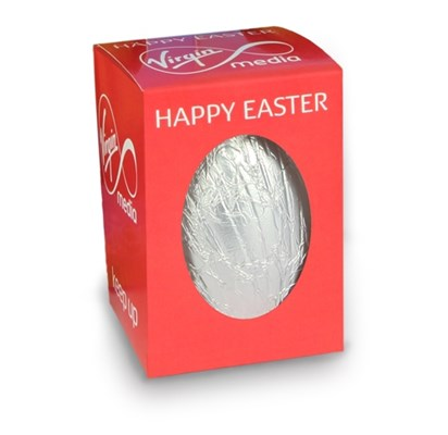 Personalised boxed Easter egg (small)