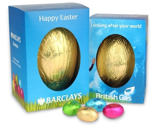 Personalised boxed easter egg medium chocolate trading co personalised chocolate easter eggs negle Image collections