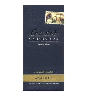 Chocolat Madagascar 65% dark chocolate bar